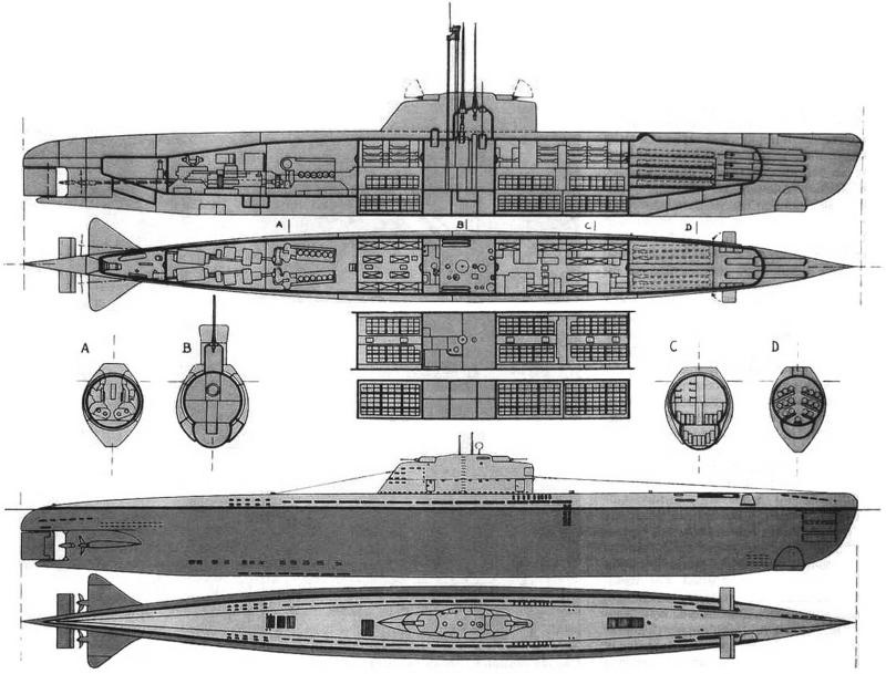 Подводная лодка Тип «XXI»