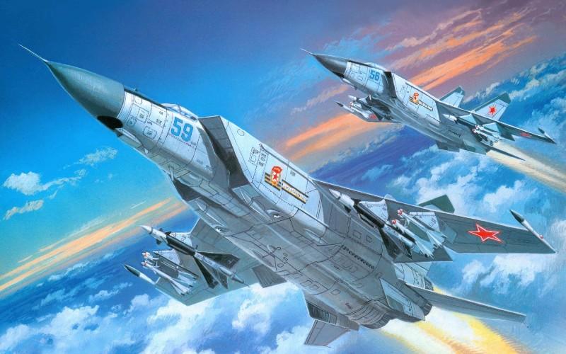 МиГ-25 ИЗ ВАТМАНА