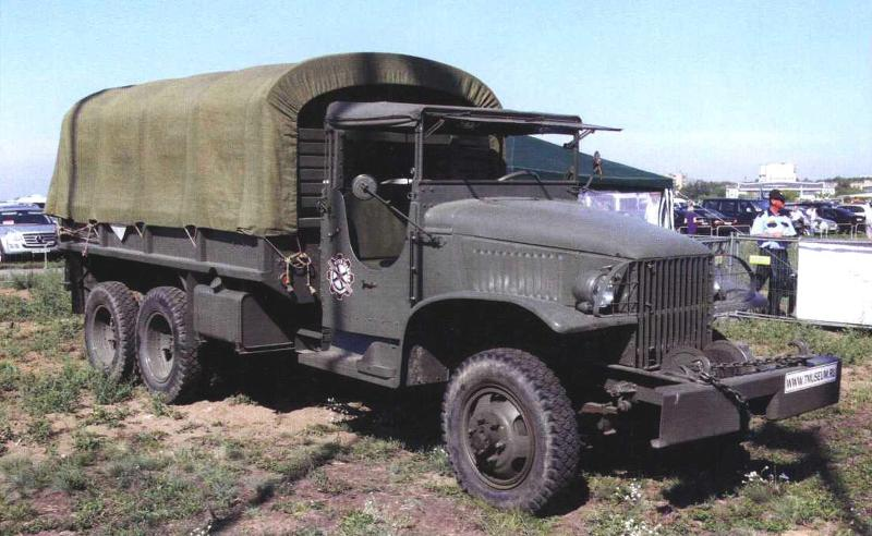 GMC CCKW 353 с цельнометаллической кабиной