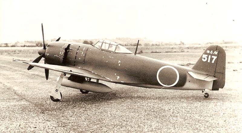 Один из двух прототипов N1K4-J («Шиден Каи 3», или Модель 32). Самолет получил двигатель NK9H-S «Хомаре 23», и был дополнительно вооружен парой 13,2 мм пулеметов в капоте, нал мотором. Оба прототипа были переделаны из серийных N1K2-J, о чем свидетельствует большой киль, характерный для предсерийных машин