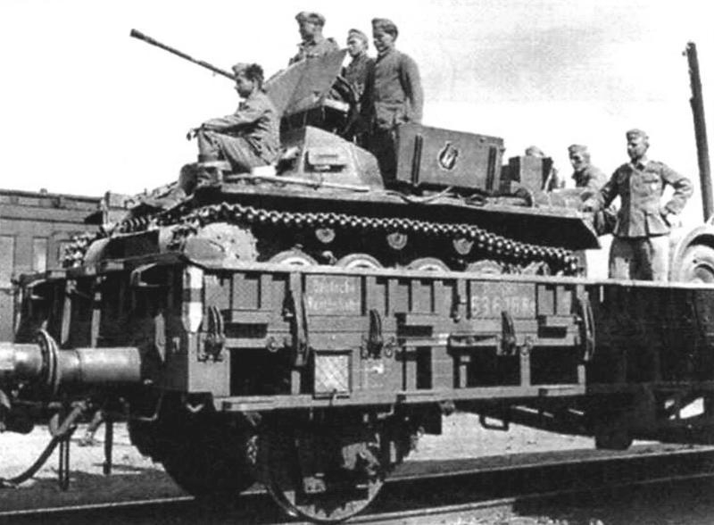 Зенитная установка, поставленная на охрану воинского эшелона