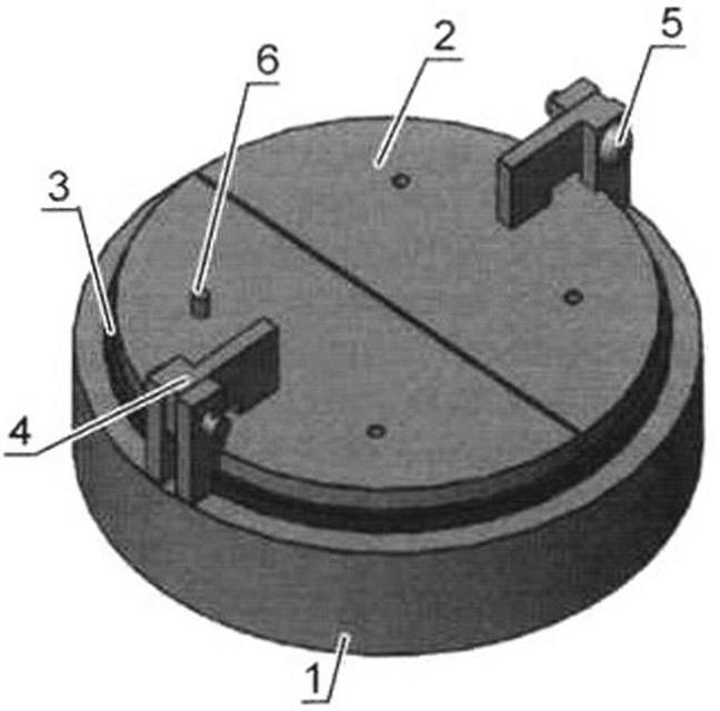 Двухлепестковый инерционный клапан желонки
