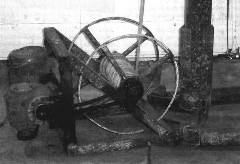 Приводной узел буровой установки