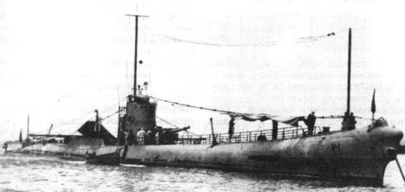 Подводная лодка «Барракуда», первоначально «V-1», затем «В-1» (SS-163), США, 1925 г.