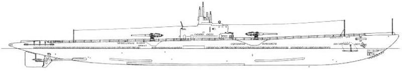 Подводная лодка-заградитель «Аргонавт» «V-4» (SS-166), США, 1928 г.