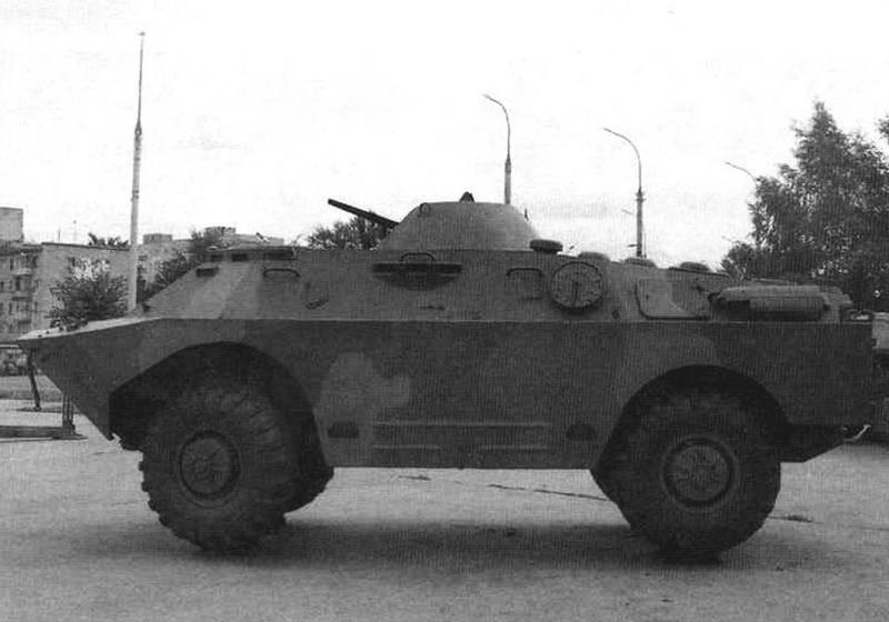 БРДМ-2 без вооружения и дополнительных колес, г. Тамбов