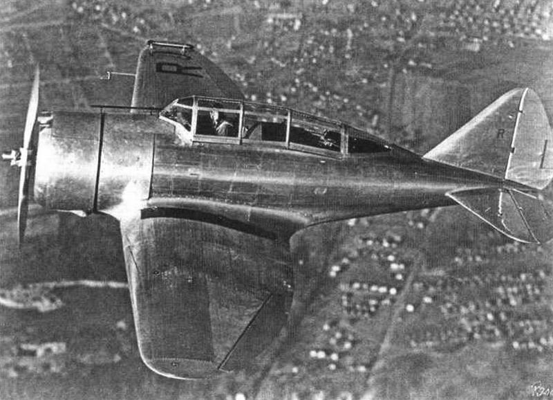 Самолет 2РА-L для Советского Союза во время облета в США