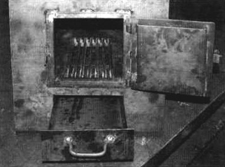 Колосник и зольный ящик (последний выполняет функцию поддувала)