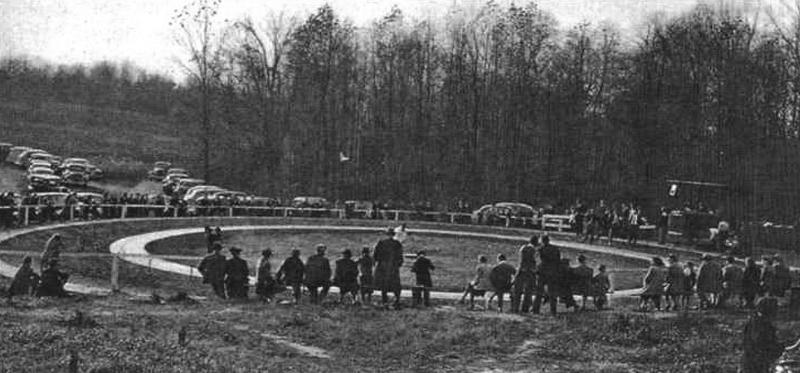 Кордодром 1930-х годов