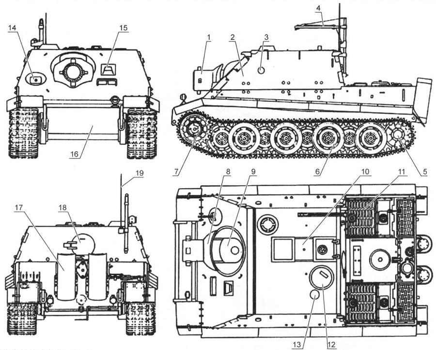 Штурмовая самоходная установка «Штурмтигр»