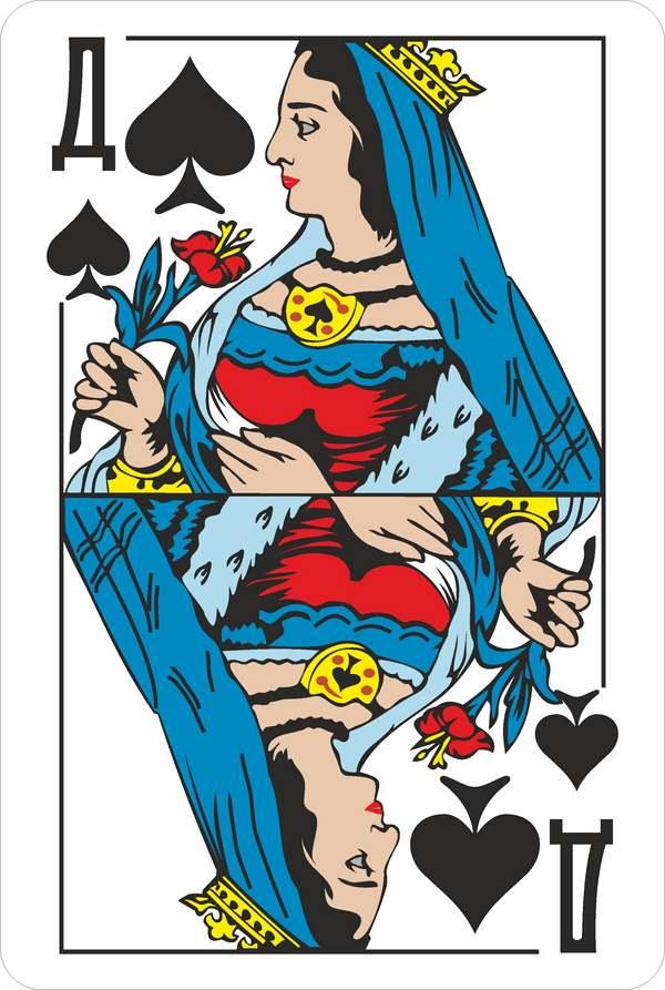 Кто скрывается за образами карточных дам?