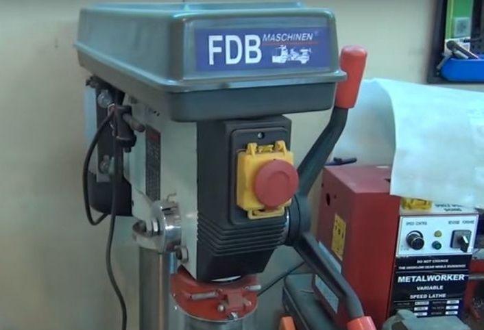 Сверлильный станок FDB Maschinen Drill 25