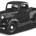 Chevrolet выпуска 1937 г.