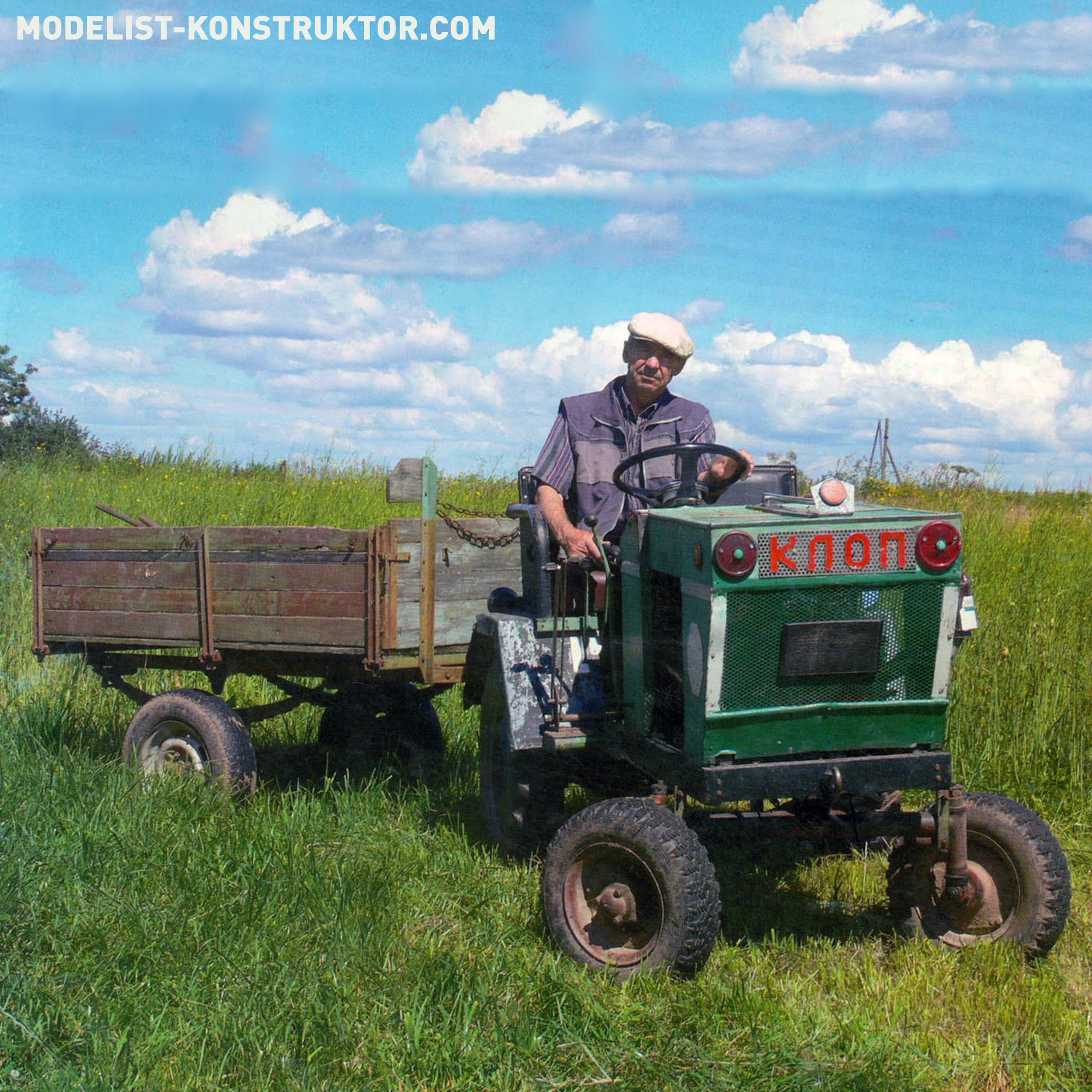 Cамодельные трактора на базе ГАЗ-51, ГАЗ-69, УАЗ-469, Т-40, Москвич-412