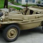 Армейский автомобиль-амфибия SCHWIMMWAGEN