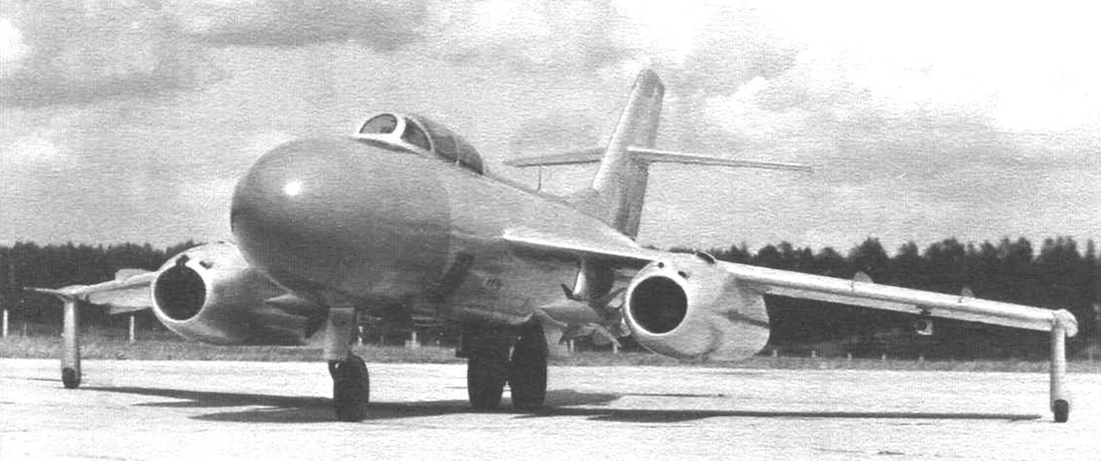 Як-25К с ракетами К-7Л