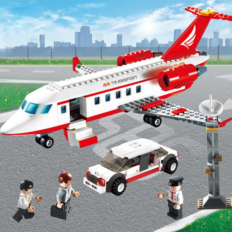 Соберите свой самолет из 334 блоков