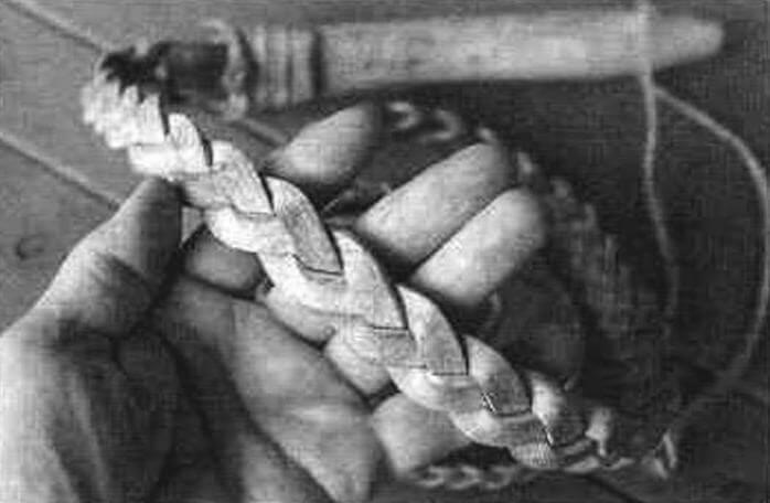 Плетение плети косичкой