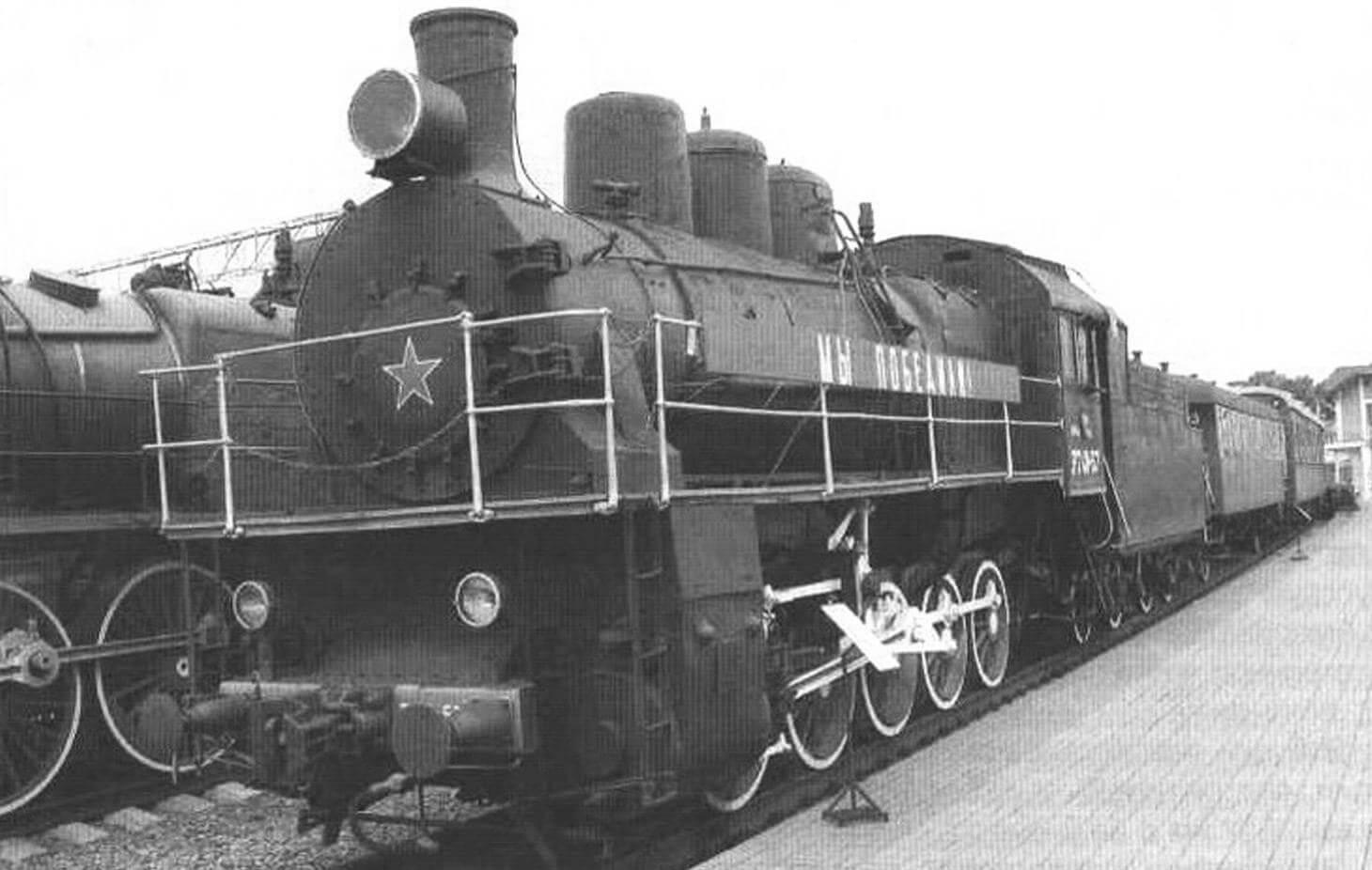 Первый опытный экземпляр паровоза «Победа» после доработки в 1947 г. запустили в серийное производство под обозначением «Л»