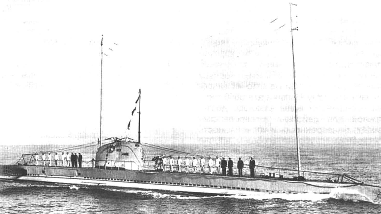 Подводная лодка «Данаэ»
