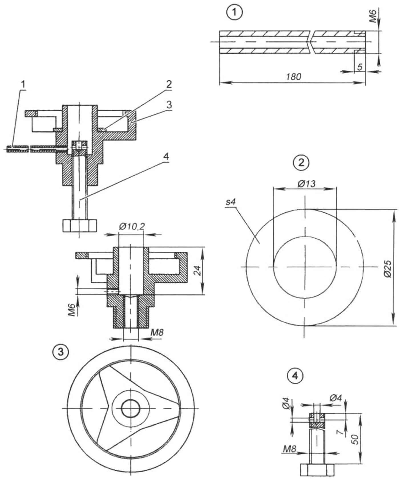 Редуктор-адаптер для извлечения остатков монтажной пены из некондиционных баллонов