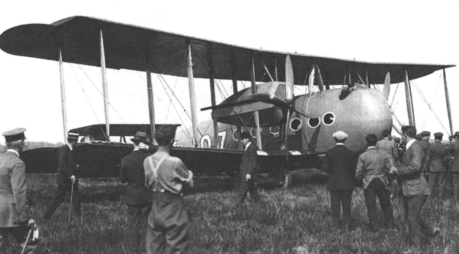 Опытный образец «Вими комершл», апрель 1919 г.
