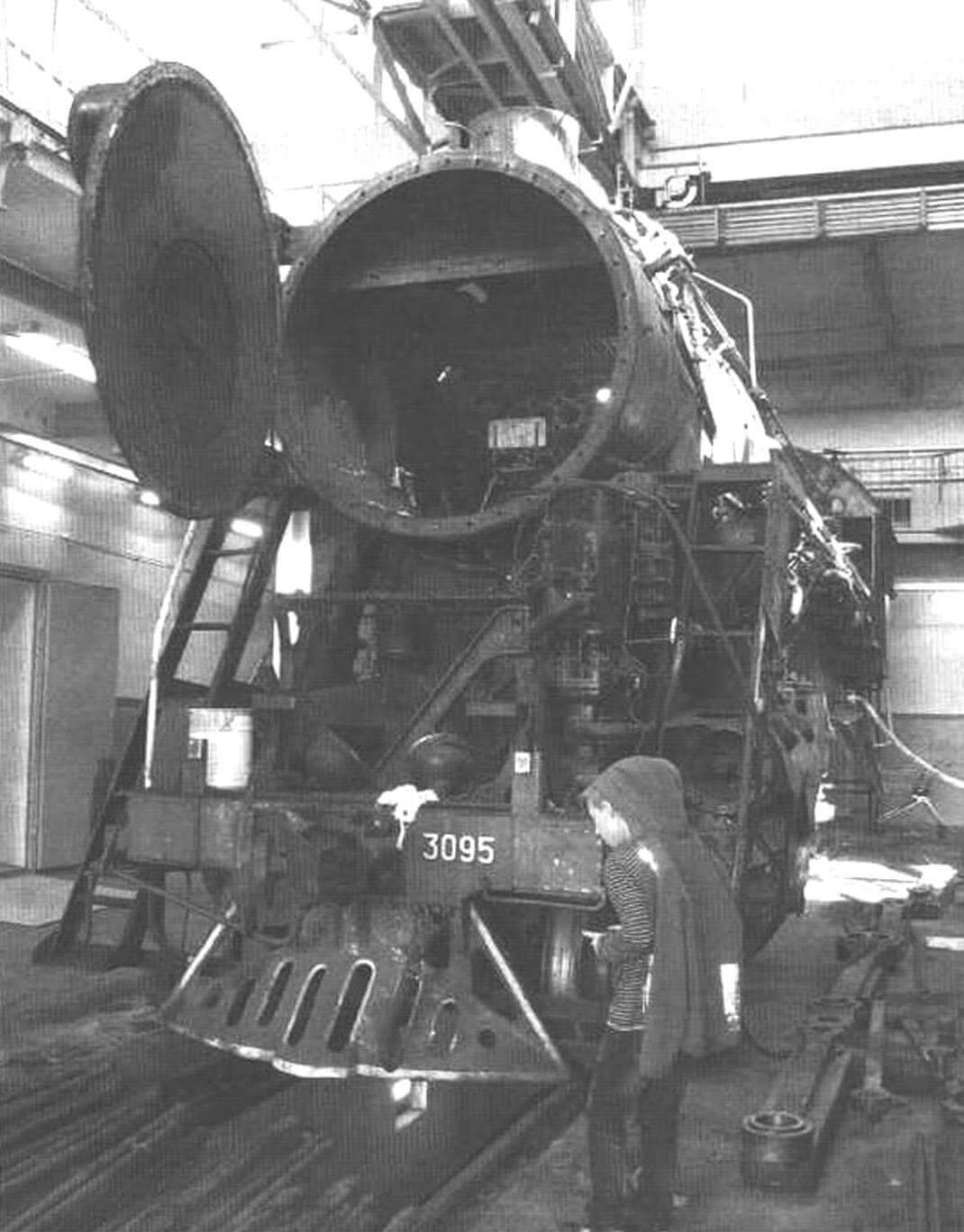 Действующее депо Подмосковная, где ремонтируют паровозы