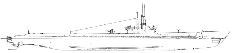 Подводная лодка «Балао» типа «Балао» (SS-285) (США, 1946 г.)