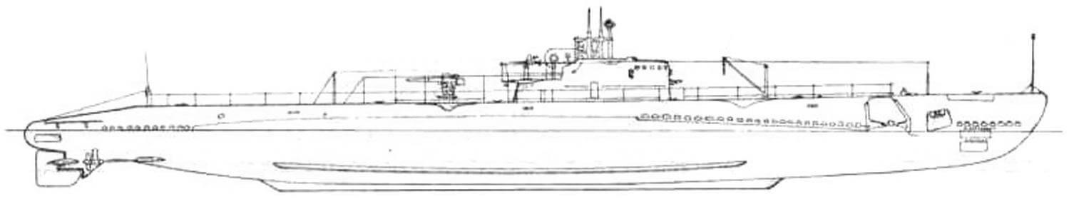 Подводная лодка «Макрель» (SS-204) (США, 1941г.)