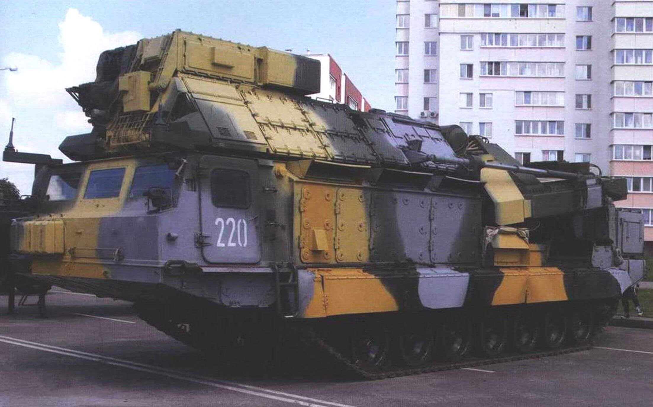 Многоканальная станция наведения ракет зенитно-ракетного комплекса 9С32