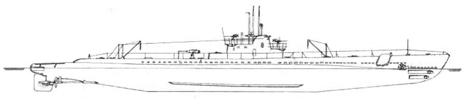Подводная лодка «Марлин» (SS-205) (США, 1941г.)