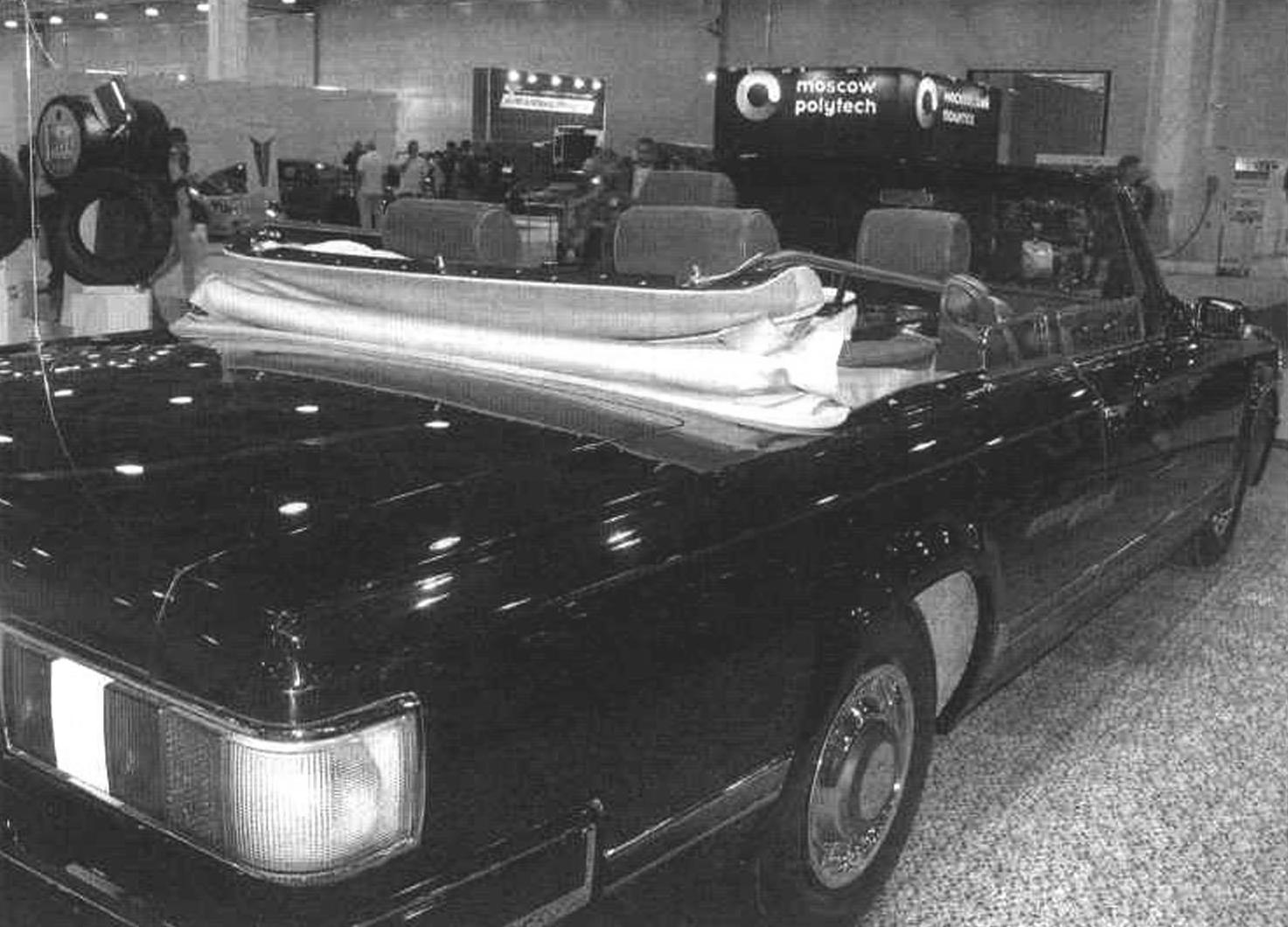 Трехместный (не считая водителя) кабриолет ЗИЛ-410441