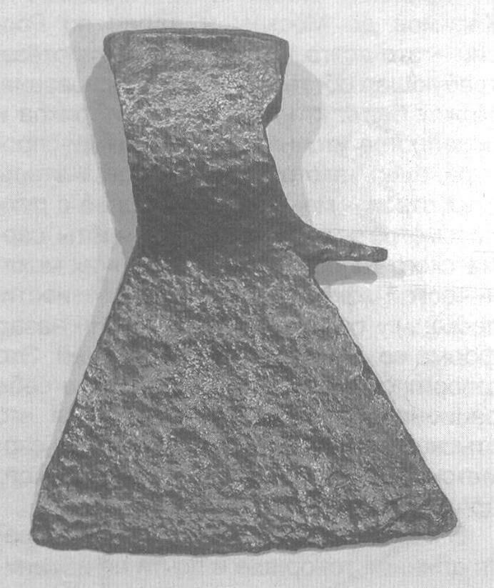 Рис. 1. Плотничный топор XVIII века