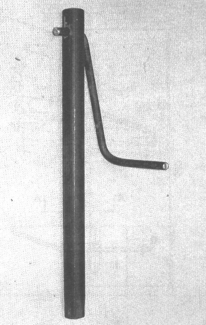 Фото 4. Удлиненный трубчатый S19 в сборе с фигурной рукояткой