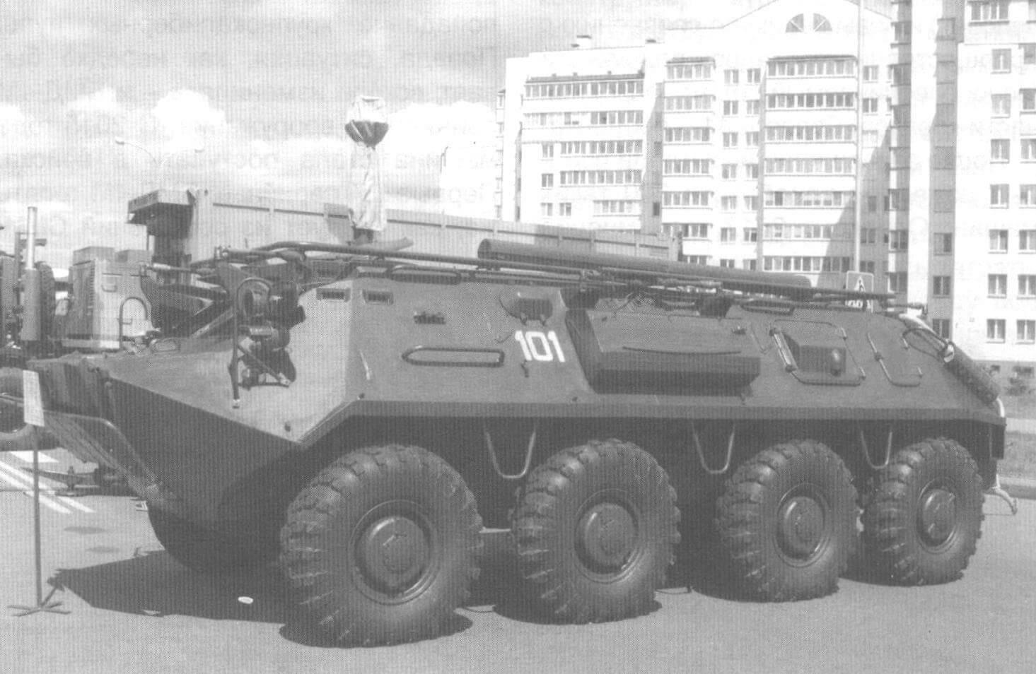 Командно-штабная машина на базе БТР-60ПА Вооруженных сил республики Беларусь