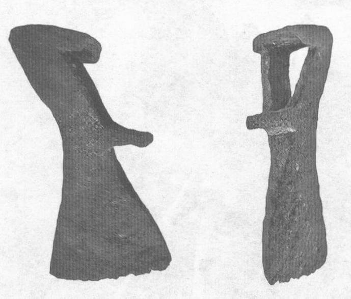 Рис. 3. Сарматский боевой топор IV века н.э.