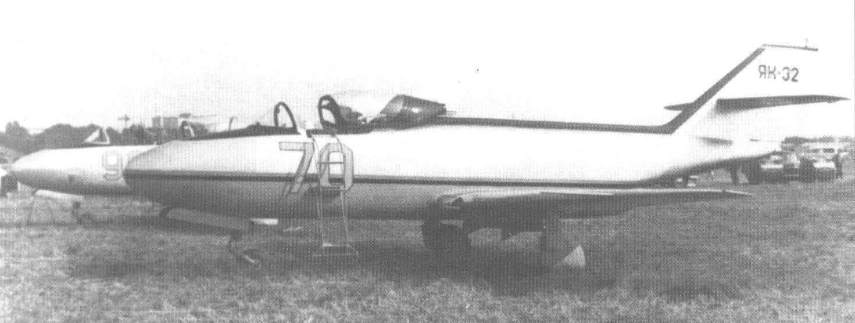 Третий опытный экземпляр Як-32