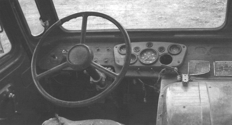 Фрагмент кабины ГАЗ-66