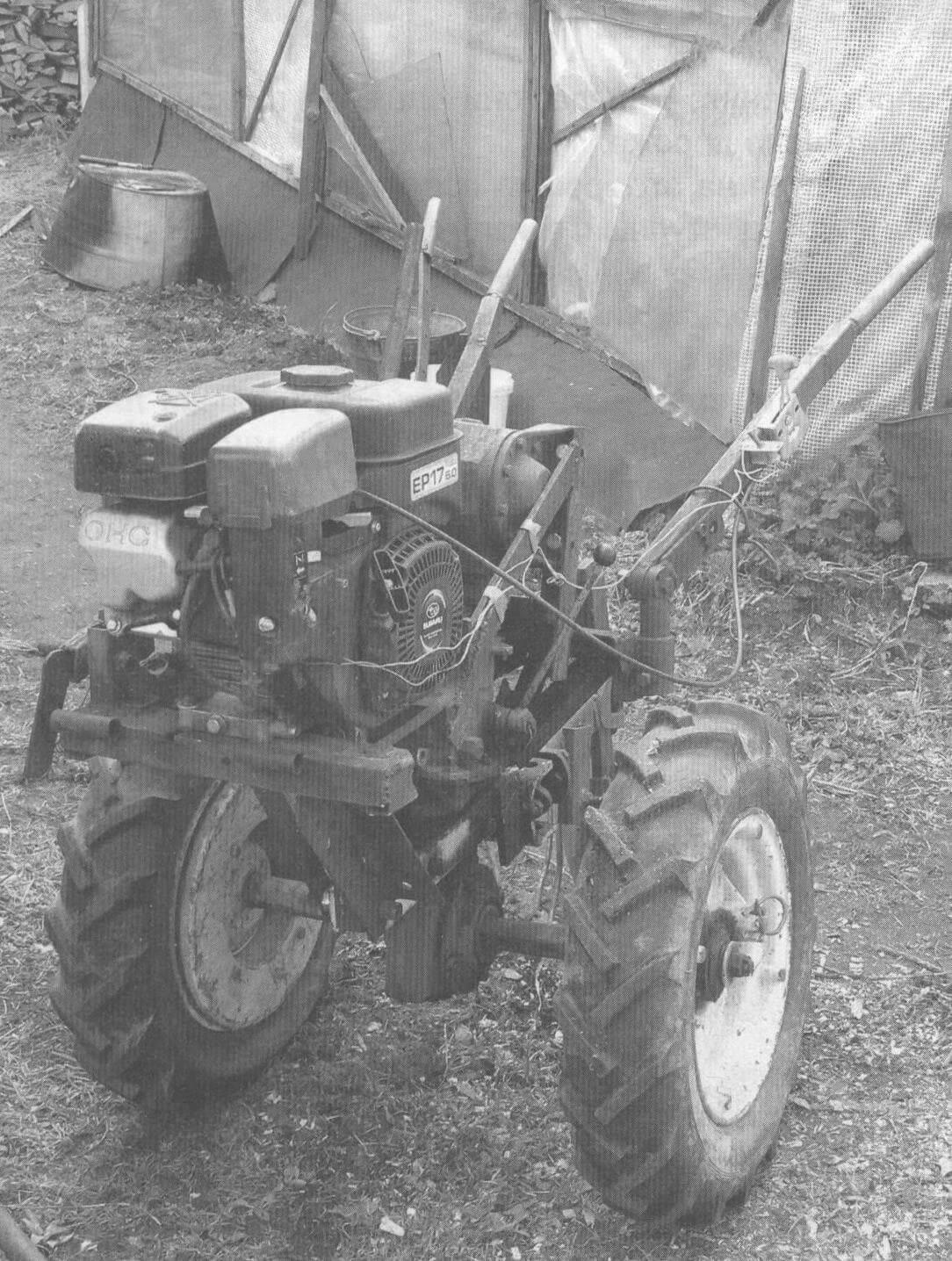 Мотоблок с двигателем «Субару»