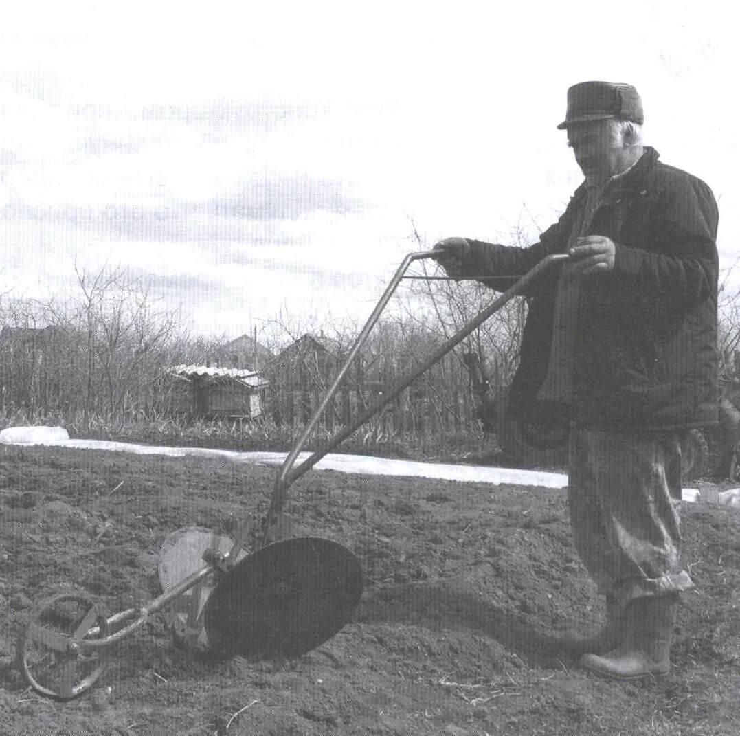 Дисковый окучник В. Ананьева
