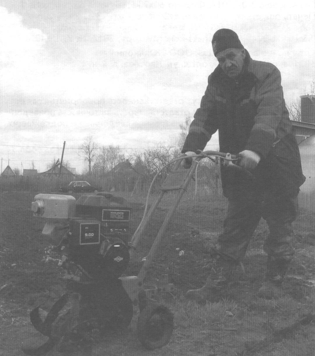 Мотокультиватор «Крот», доработанный А. Копытовым
