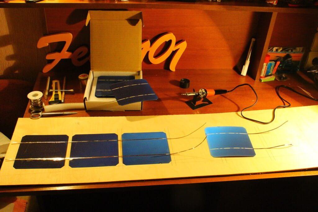 Сборка самодельной солнечной батареи