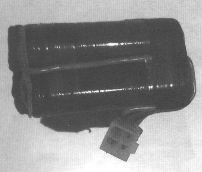 Фото 3. АКБ из 2-х цилиндрических Li-Po элементов от электроотвертки