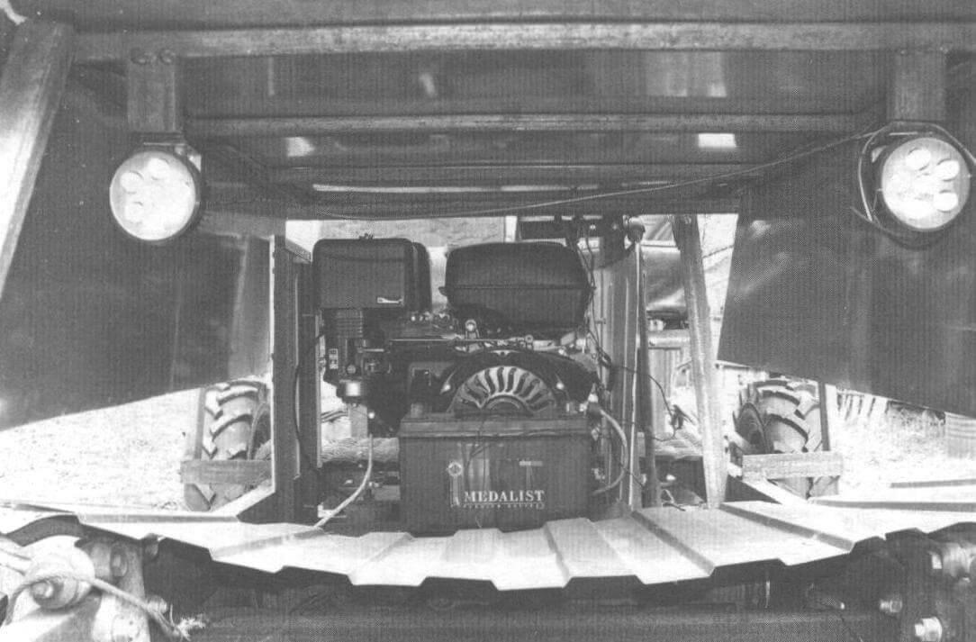 Силовая установка трактора Е. Пикулина