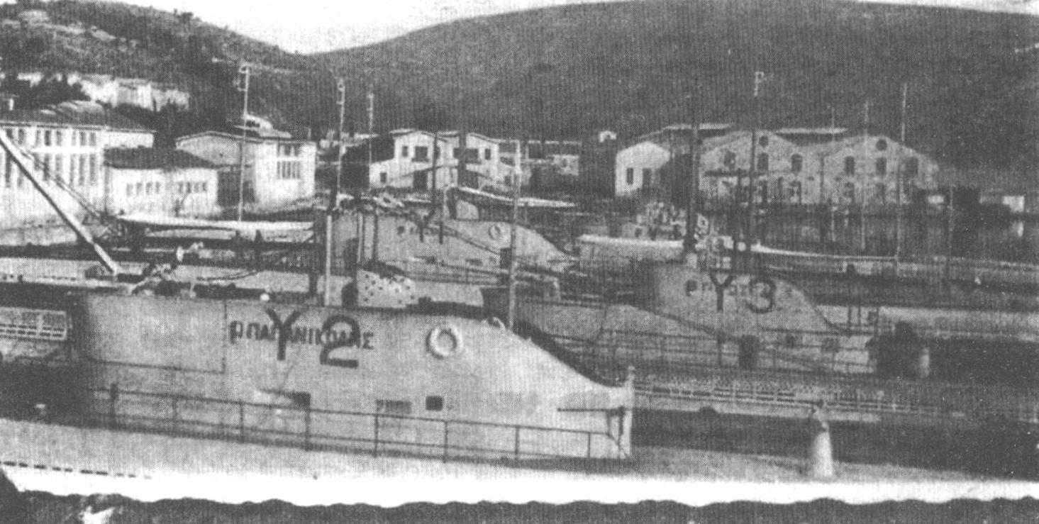 Подводная лодка «Протеус» (Греция, 1929 г.)
