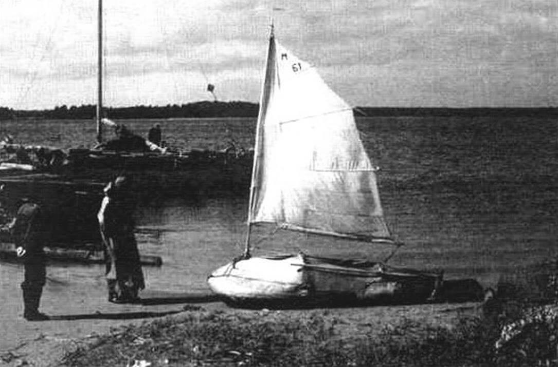 Многим до сих пор не верится, что на этой лодке автор несколько раз пересек Каспийское море