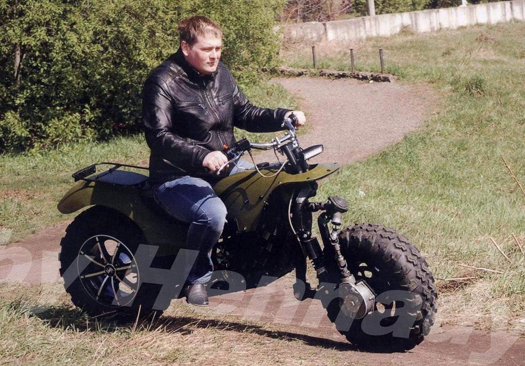 Мотоцикл внедорожный своими руками фото 792