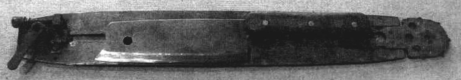 Примерка рубила-1 к шине бензопилы «Урал»