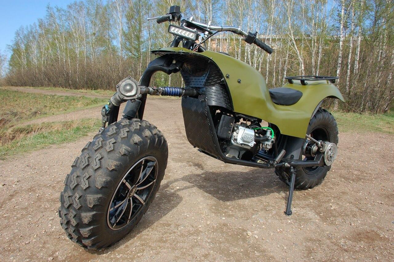 Мотоцикл внедорожный своими руками