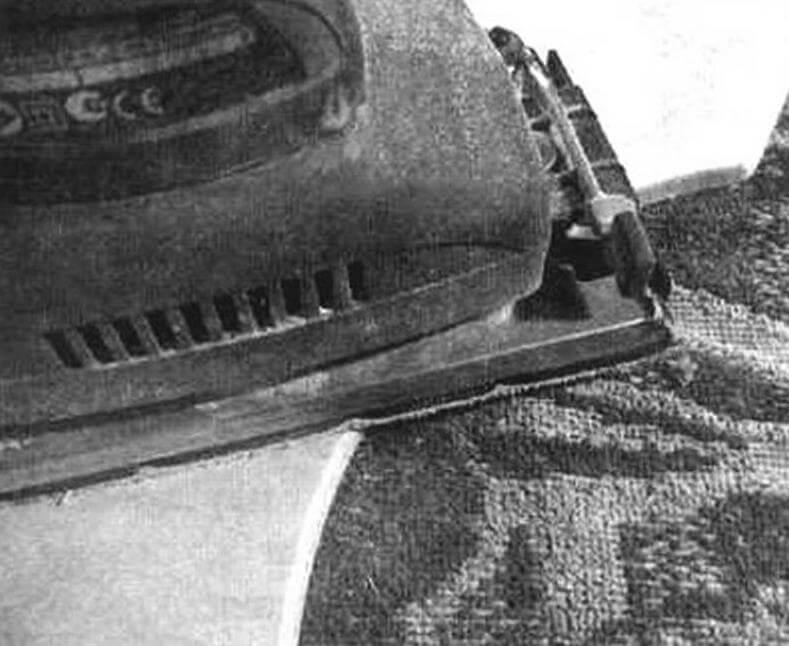 Обработка шлифмашинкой заготовки полки